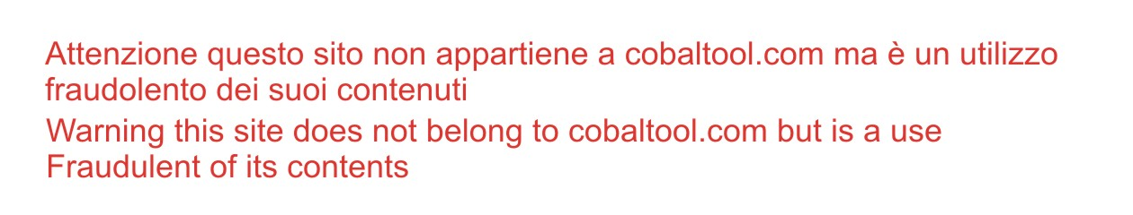 Cobaltool Assistenza vendita e servizi Informatici